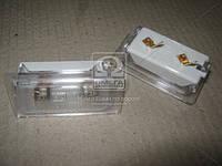 Фонарь освещения номерного знака ВАЗ 2108,10 (производитель ОАТ-ОСВАР) 15.3717