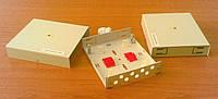 Оптический бокс 8FC - настенный распределительный оптический мини-бокс на 8 волокон, класс FTTH, металлический