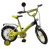 "Велосипед Tilly Explorer 14"" T-21413 Yellow Black"