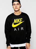 Спортивная кофта Nike, Найк, свитшот, трикотаж, мужской, черного цвета, копия