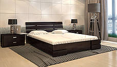 Кровать из натурального дерева с подъемным механизмом Дали Люкс фабрика Арбор Древ, фото 3