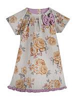 Детский сарафан - платье Винтаж розы