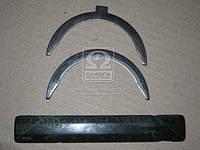 Полукольцо подшипника упорного ЗИЛ вала коленчатого (1 верхняя+1нижняя) (производитель Россия) 130-1005186/87