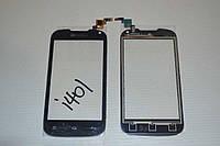 Тачскрин / сенсор (сенсорное стекло) для Nomi i401 Colt (черный цвет)