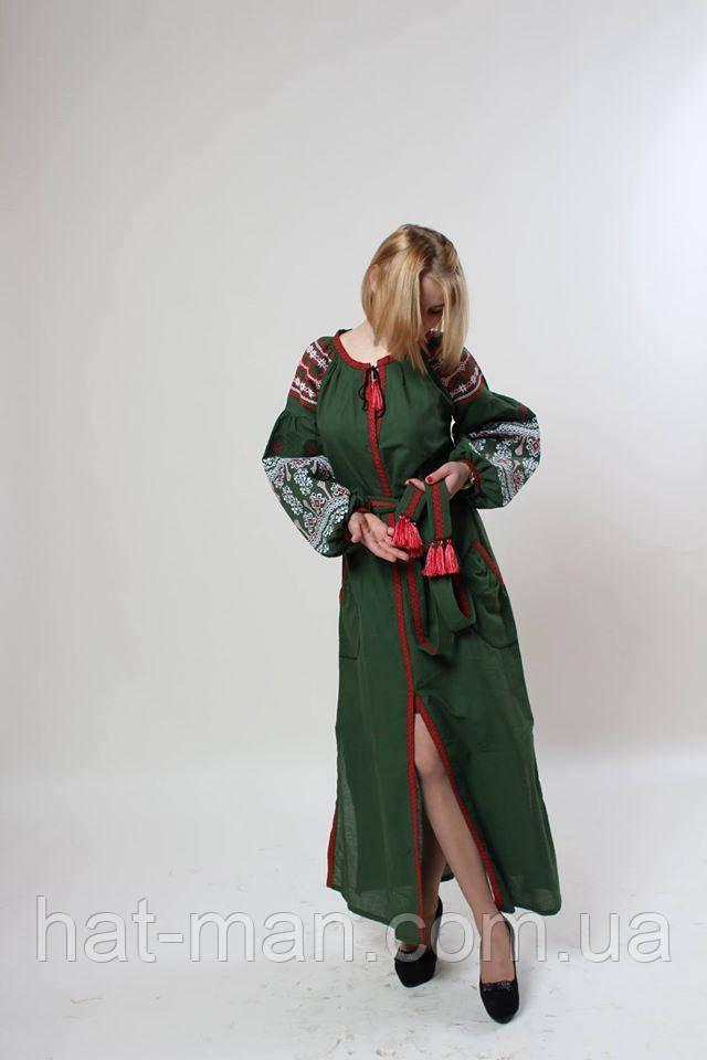 """Сукня """"Злата"""", зелене"""