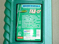 Масло трансмиссионное OIL RIGHT ТАД-17 ТМ-5-18 80W-90 GL-5 (Канистра 1л) 2547
