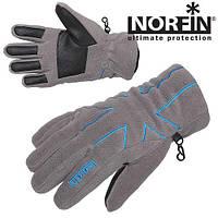 Перчатки флисовые с Thisulate  NORFIN GRAY WOMEN размер L