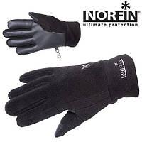 Перчатки флисовые с утеплителем NORFIN FLEECE BLACK WOMEN размер L