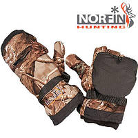Перчатки-варежки NORFIN Hunting (passion) без пальцев размер L