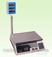 Tорговые весы с гусаком до 40 кг. LIVSTAR LSU-1793, электронные, аккумулятор