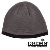Шапка в'язана Norfin EXPLORER (підкл.-фліс / сіра) р.XL