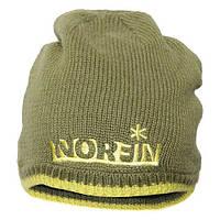 Шапка вязаная NORFIN (зелёная) размер L