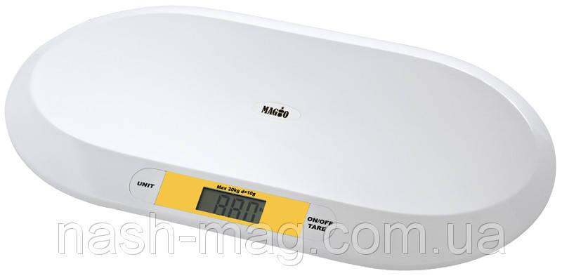 Весы детские электр.MAGIO MG-303 20кг/ж/к диспл., фото 2