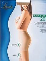 Колготки LEVANTE BODY SLIM 20 (черный, натуральный, бежевый. цвет загара, серо-коричневый, телесный) (2; 3; 4)
