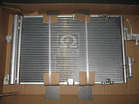 Конденсор кондиционера ASTRA G/ZAFIRA MT/AT 02- (Van Wezel) 37005326