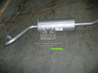 Глушитель ГАЗ 31105 закатной  (производитель Ижора) 31105-1201008