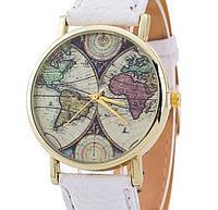 Часы Geneva Maps (white)