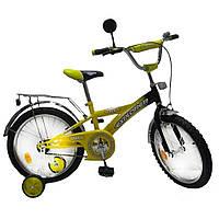"Велосипед Tilly Explorer 18"" T-21813 Yellow Black"