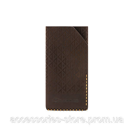 Кожаный чехол Lexus для iPhone 5/5S, Leather Smartfone Case Brown, серия Casual