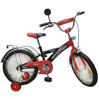 "Велосипед Tilly Explorer 18"" T-21814 Orange Black"