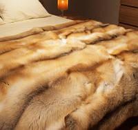 Королевские спальни! Элитное меховое покрывало из канадской лисы