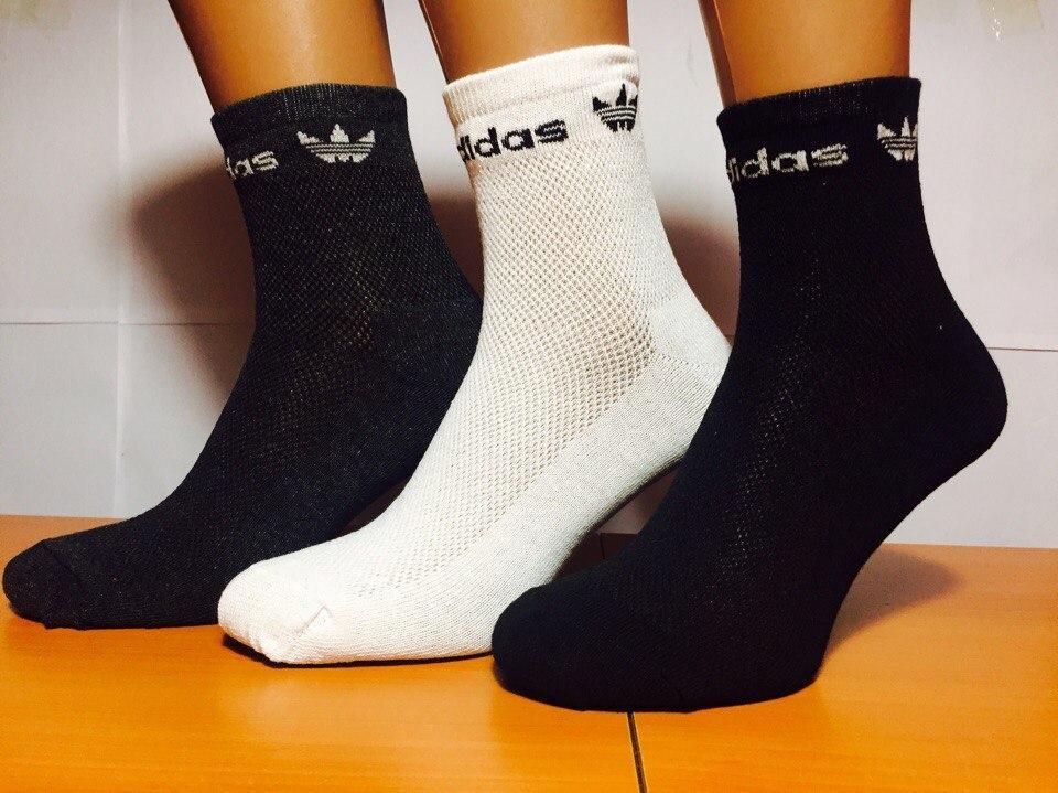 Носки мужские сетка «Adidas» Ассорти 40-44р.