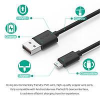 Шнур AUKEY длиной 1 метр USB - micro USB дата-кабель кабель питания ЮСБ шнурок USB-microUSB 1м