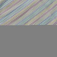 Коттон-жатка с сиреневой, голубой и желтой полоской