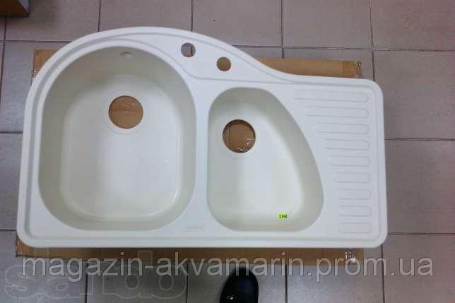 Кухонная мойка ALVEUS FUTUR 50L-A23 кремовая