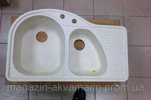Кухонная мойка ALVEUS FUTUR 50L-A23 кремовая, фото 2