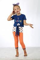 Турецкие летние костюмы для девочек, качественные.