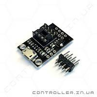 Программатор ATtiny13A, ATtiny25, ATtiny45, ATtiny85 Micro Usb