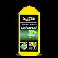 Грунтовка Kompozit UNIVERSAL - BIO 1л - Акриловый концентрат-грунт для стен и потолка