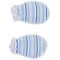 Рукавички для новорожденных на 56рост, Хлопок-Ажур 1858тро,В наличии 50_56_ Рост