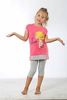 Детские летние костюмы для девочек. ТМ SEXEN. Турция. 37379