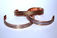 Медно магнитный браслет, ассорти, 1см (в упаковке), фото 1