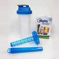 Ручной шейкер бутылка миксер Mighty Mixer Blender!Опт