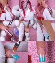 Форми,тіпси для нарощування нігтів