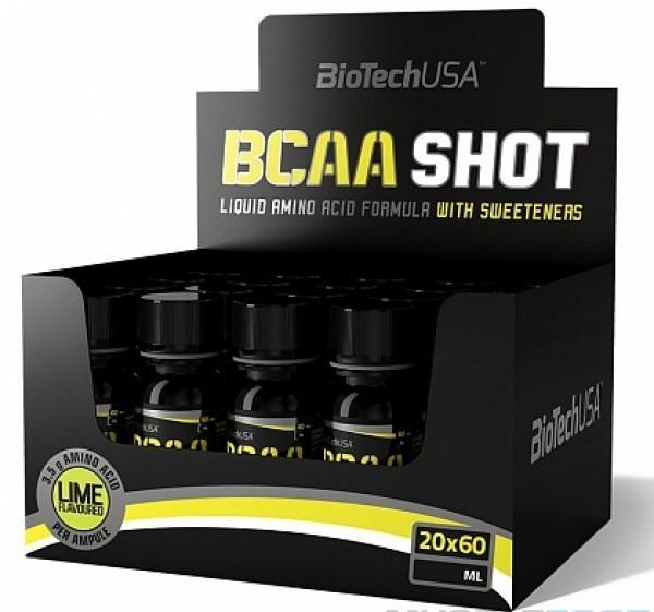 BioTech BCAA Shot 20x60ml