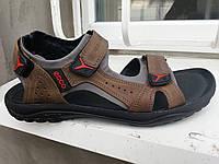 Летние кожаные сандалии ecco