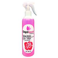 Вода косметическая с экстрактом розы Depiltouch professional