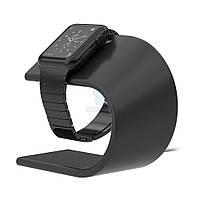Элитная подставка из алюминия NOMAD Aluminium Stand для Apple Watch - серый космос (STAND-APPLE-SG-001)
