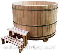 Купель круглая из дуба 1300 литров