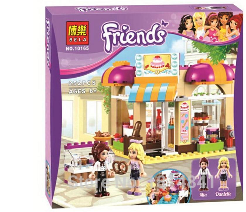 """Конструктор Bela 10165 """"Центральная кондитерская"""" (аналог LEGO Friends 41006), 253 дет."""