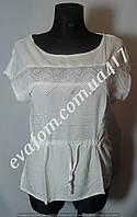 Блуза с пояском  женская