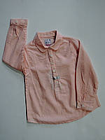 Рубашка для девочки 2,3,4,5,6,7,8,9 лет