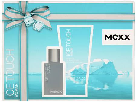 Набор Mexx Ice Touch Woman Set (туалетная вода 15мл+гель д/душу 50мл)