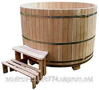 Купель круглая из дуба 3300 литров
