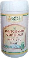 Канчнар Гуггул (Kanchanara Guggulu) 50 таб, 25 гр, - лечение лимфатической системы и щитовидной железы