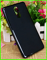 Силиконовый матовый прозрачный чехол, бампер для Bluboo maya max (черный)